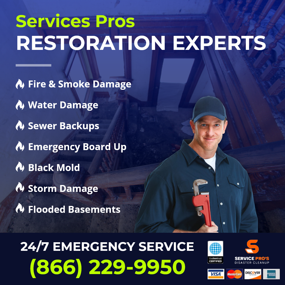 Maywood  restoration service
